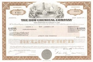 Dow Chemical - Bond