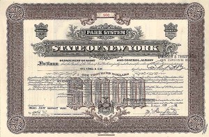 State of New York - Park System Bond