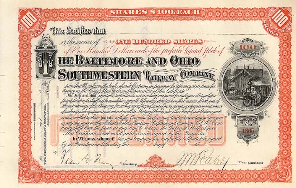 Baltimore & Ohio Southwestern Railway Company