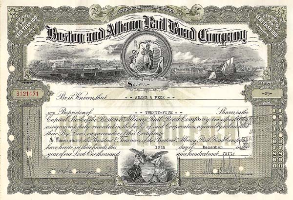 Boston and Albany Railroad Company