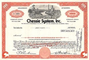Chessie System, Incorporated - Stock Certificate