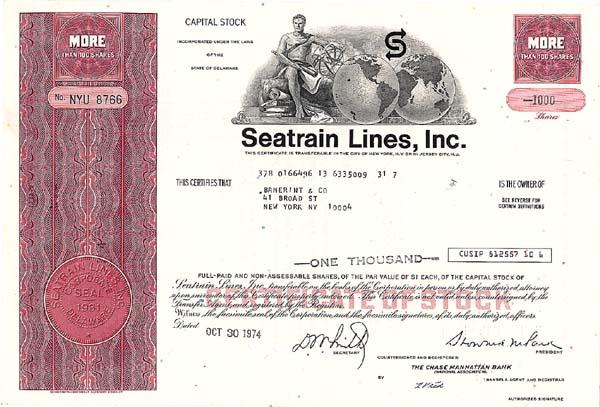 Seatrain Lines, Incorporated