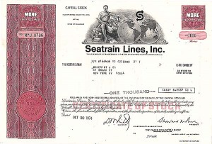 Seatrain Lines, Inc