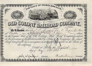 Old Colony Railroad - SOLD