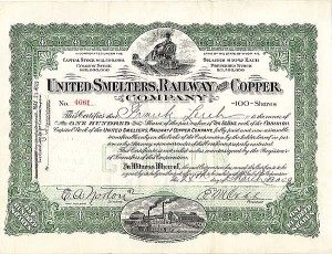 United Smelters, Railway & Copper Co