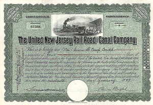 United New Jersey Railroad & Canal Co