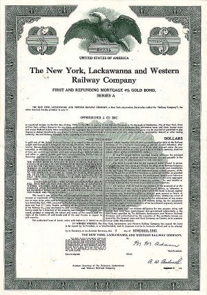 New York, Lackawanna & Western Railway