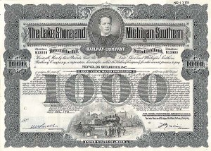Lake Shore and Michigan Southern Railway - Bond