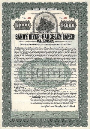 Sandy River & Rangeley Lakes Railroad