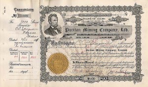 Puritan Mining Co, Ltd