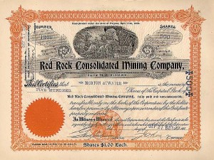 Red Rock Consolidated  Mining