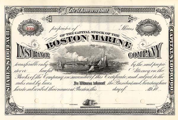 Boston Marine Insurance Co