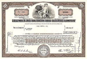Columbus & So Ohio Electric Co