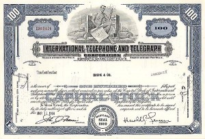 International Telephone & Telegraph Corporation