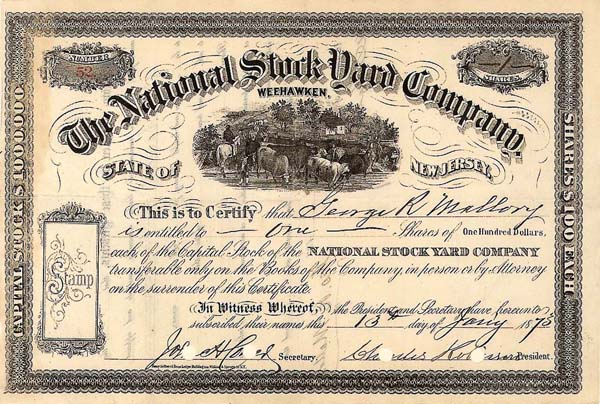 National Stockyard Co