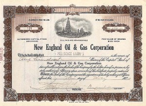 New England Oil & Gas Corp