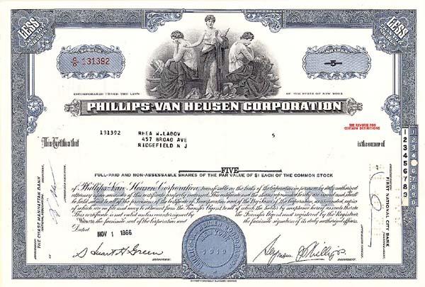 Phillips-Van Heusen Corp