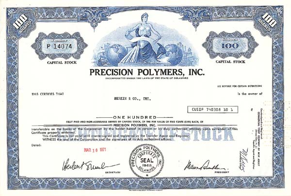 Precision Polymers, Inc