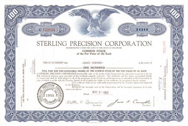 Sterling Precision Corp