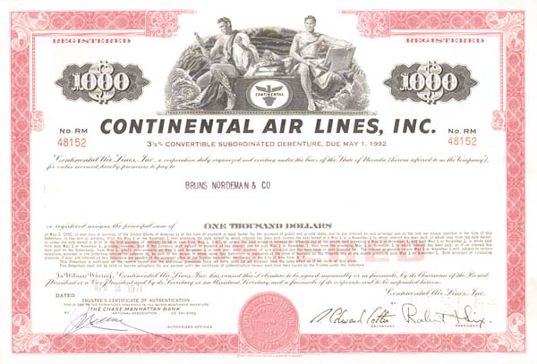 Continental Air Lines, Inc