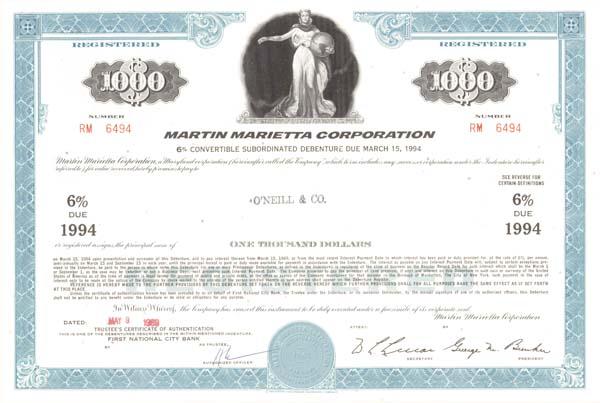 Martin Marietta Corp