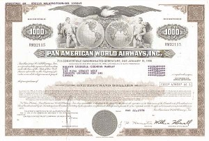 Pan American World Airways, Incorporated - Bond