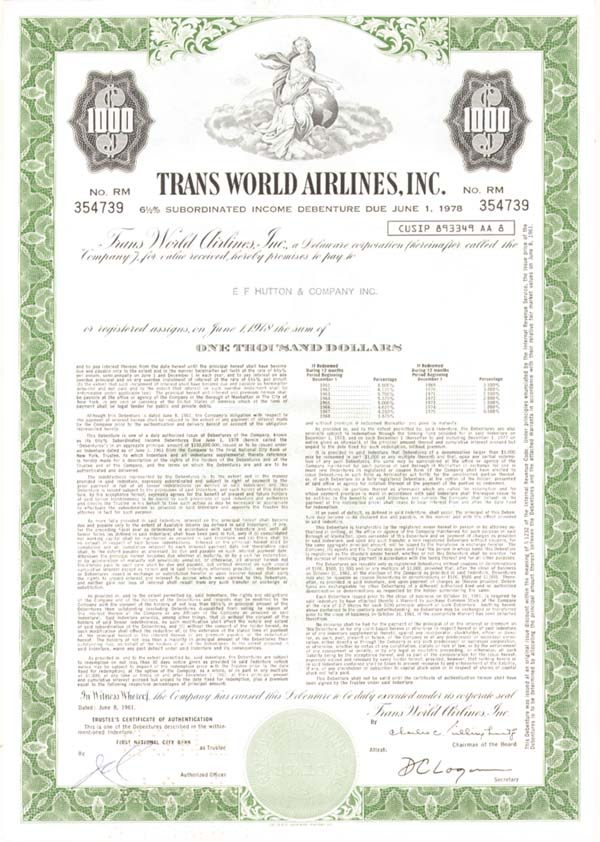 Trans World Airlines, Incorporated