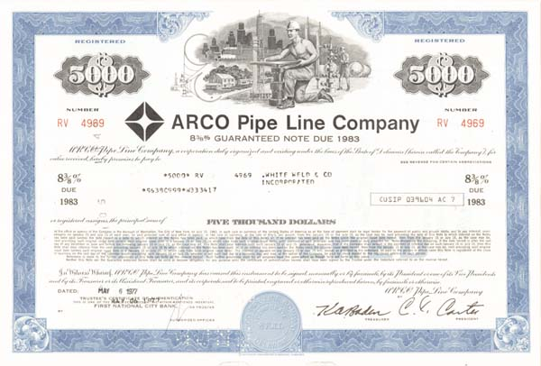 Arco Pipe Line - Bond