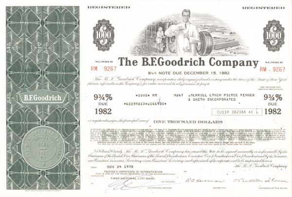 B. F. Goodrich