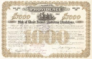 City of Providence-State of Rhode Island and Providence Plantations