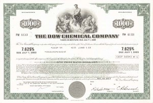 Dow Chemical Company - Bond