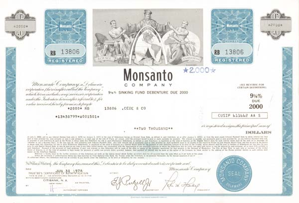 Monsanto Company - Bond