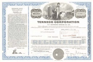 Tenneco Corporation - Bond