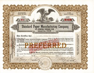 Standard Paper Manufacturing Co