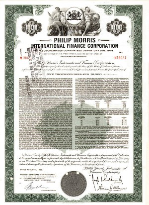 Philip Morris International Finance Corporation