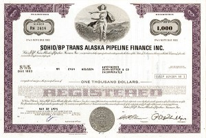 Sohio/Bp Trans Alaska Pipeline Finance Incorporated