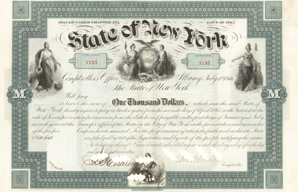 State of NY-Bounty Bond