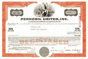 Pennzoil United, Incorporated