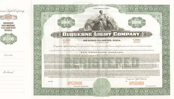 Duquesne Light - Bond