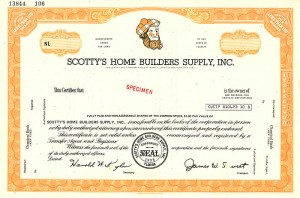 Scotty's Home Builders Supply, Inc. - SOLD