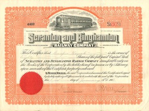 Scranton and Binghamton Railway Company