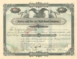 Searcy and Des Arc Rail Road Company, of Searcy, Ark.