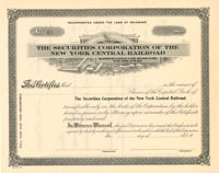 Securities Corporation of the New York Central Railroad