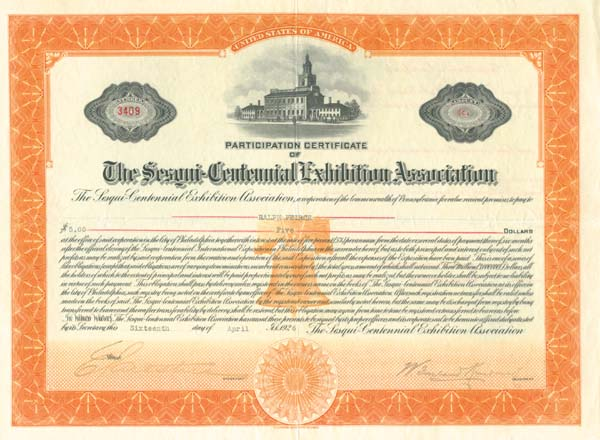 Sesqui-Centennial Exhibition Association