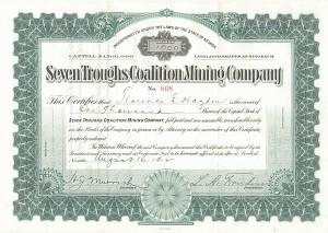 Seven Troughs Coalition Mining Company
