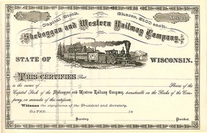 Sheboggan and Western Railway Company
