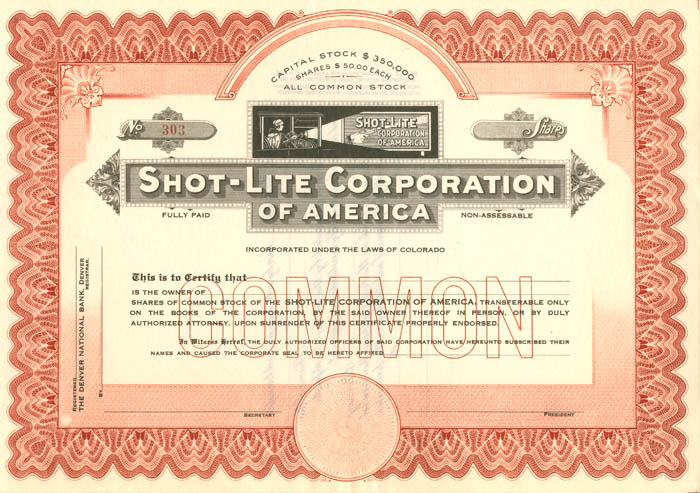 Shot-Lite Corporation of America