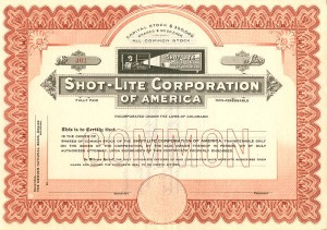 Shot-Lite Corporation of America