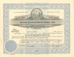 Silver Star-Queens Mines, Inc.