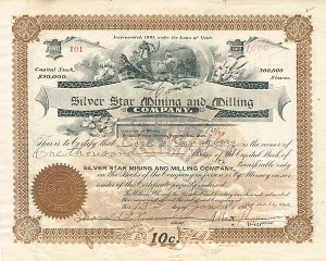 Silver Star Mining and Milling Company